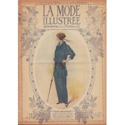 Complete magazine La Mode Illustrée 1913 N°41
