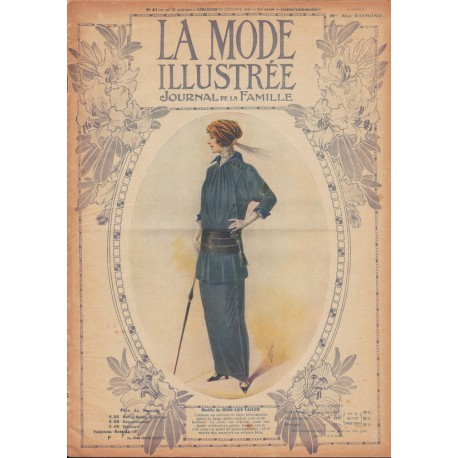 Complete magazine La Mode Illustrée 1913 N°40