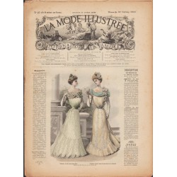 La Mode Illustrée 1900 N°42 1ère page