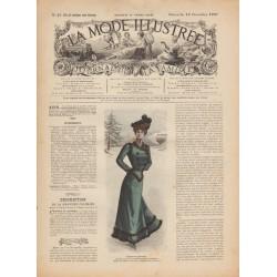 La Mode Illustrée 1900 N°46 1ère page