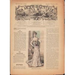 La Mode Illustrée 1900 N°49 1ère page