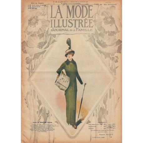 Complete magazine La Mode Illustrée 1913 N°42