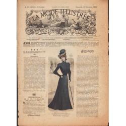 La Mode Illustrée 1900 N°50 1ère page