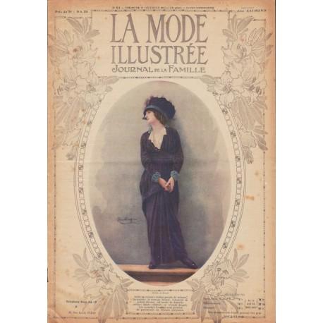 Complete magazine La Mode Illustrée 1913 N°50