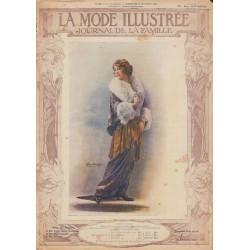 Complete magazine La Mode Illustrée 1913 N°52