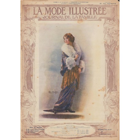 Complete magazine La Mode Illustrée 1913 N°51