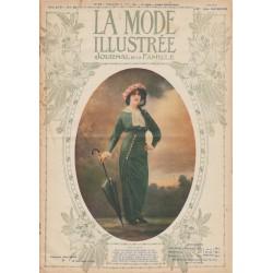 Complete magazine La Mode Illustrée 1913 N°32