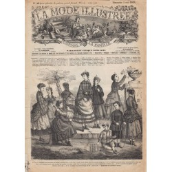 Revue complète de La Mode Illustrée 1869 N°16
