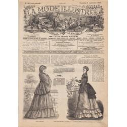 Revue complète de La Mode Illustrée 1869 N°34