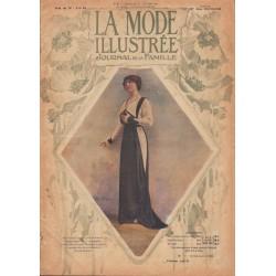Complete magazine La Mode Illustrée 1913 N°02