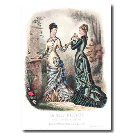 La Mode Illustrée 1877 28