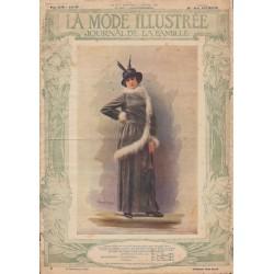 Complete magazine La Mode Illustrée 1914 N°01