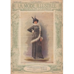 Revue complète de La Mode Illustrée 1914 N°2