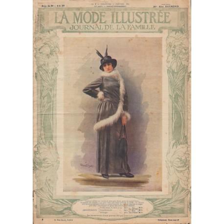 Complete magazine La Mode Illustrée 1914 N°02