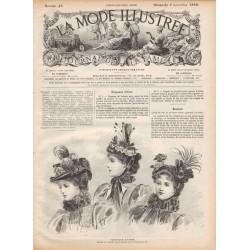 Complete magazine La Mode Illustrée 1896 N°45