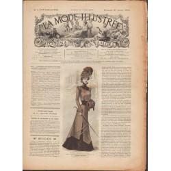 Complete magazine La Mode Illustrée 1900 N°3