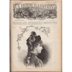 La Mode Illustrée 1886 N°15 1ère page