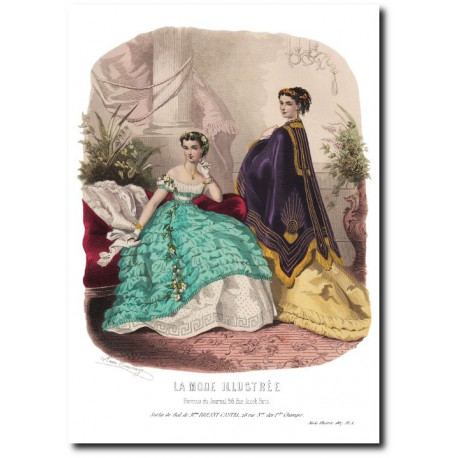 La Mode Illustrée 1867 1
