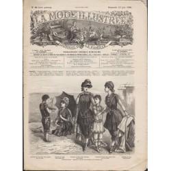 La Mode Illustrée 1886 N°24 1ère page