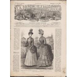 La Mode Illustrée 1886 N°32 1ère page