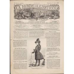Complete magazine de La Mode Illustrée 1886 N°43