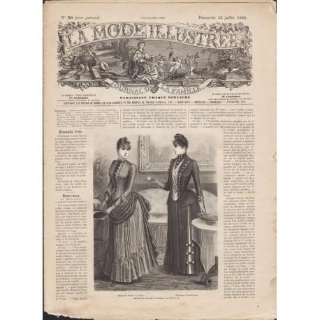 Complete magazine La Mode Illustrée 1888 N°30