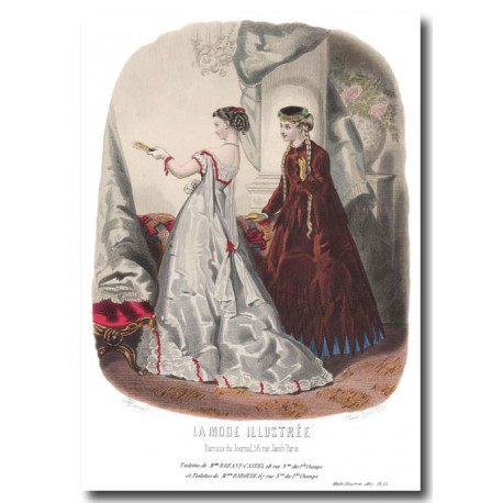 La Mode Illustrée 1867 15