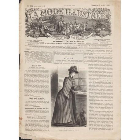 Complete magazine La Mode Illustrée 1888 N°32