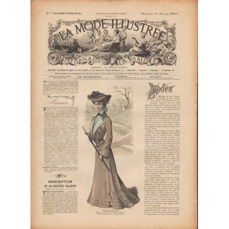 Revue complète de La Mode Illustrée 1903 N°5