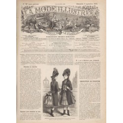 Revue complète de La Mode Illustrée 1888 N°37