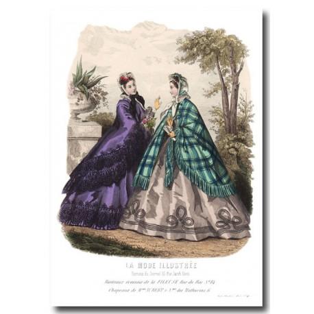 La Mode Illustrée 1863 41