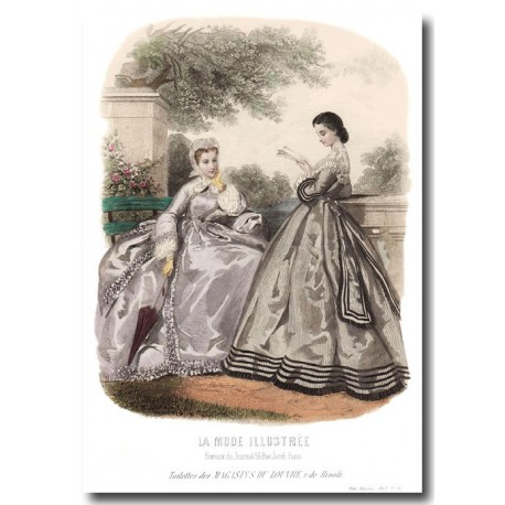 La Mode Illustrée 1863 32