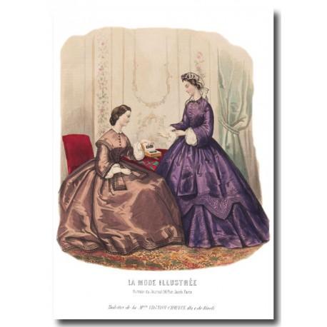 La Mode Illustrée 1862 0