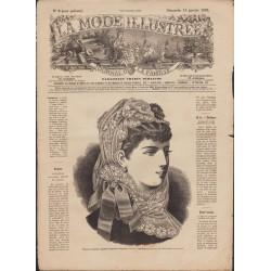 La Mode Illustrée 1882 N°03 1ère page