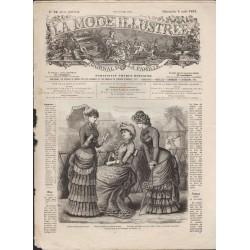 La Mode Illustrée 1882 N°32 1ère page