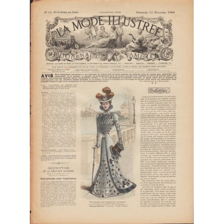 Complete magazine La Mode Illustrée 1899 N°51