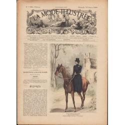 La Mode Illustrée 1899 N°07 1ère page
