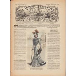 La Mode Illustrée 1899 N°51 1ère page
