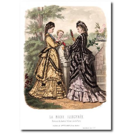 La Mode Illustrée 1872 27