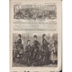 La Mode Illustrée 1875 N°08 1ère page