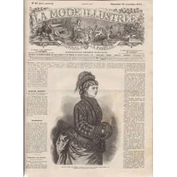 La Mode Illustrée 1874 N°47 1ère page