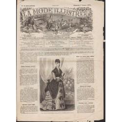 La Mode Illustrée 1875 N°06 1ère page