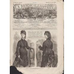 La Mode Illustrée 1875 N°16 1ère page