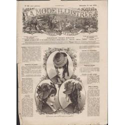 La Mode Illustrée 1876 N°21 1ère page