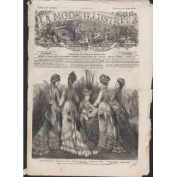 La Mode Illustrée 1876 N°34 1ère page
