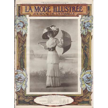 Revue complète de La Mode Illustrée 1910 N°28