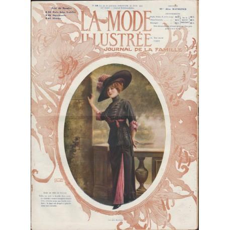Complete magazine La Mode Illustrée 1911 N°24