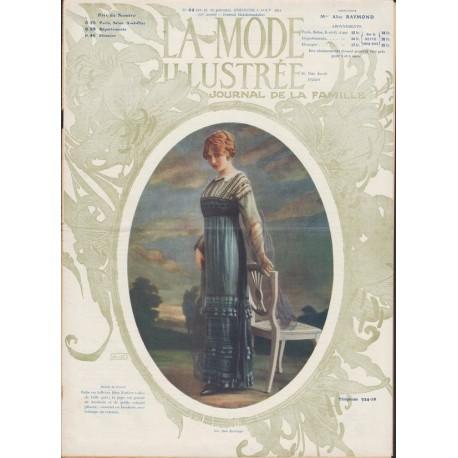 Complete magazine La Mode Illustrée 1911 N°32