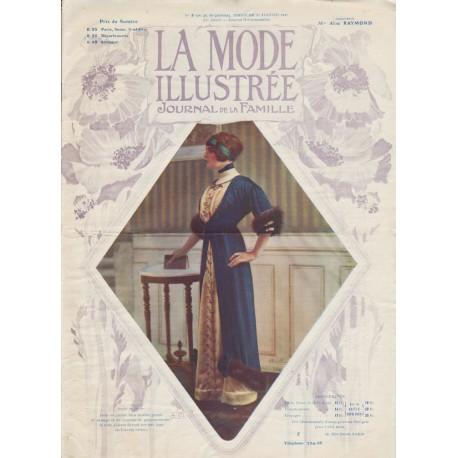 Complete magazine La Mode Illustrée 1912 N°03