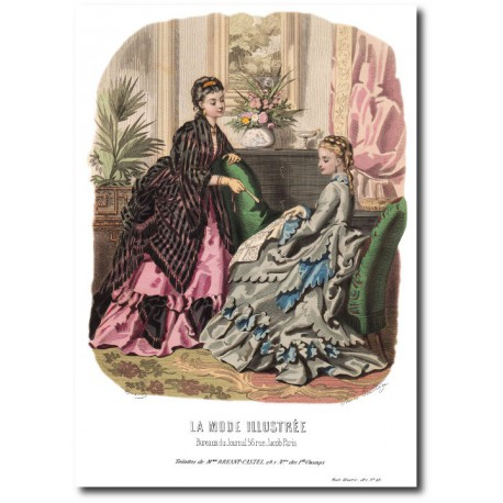 La Mode Illustrée 1872 46